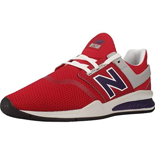 New Balance Sneaker da Uomo MS X-90, Rosso (Colore: Rosso), 41 EU