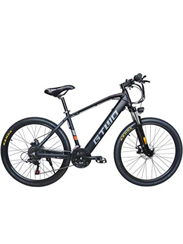 DASLING Electric Mountain Bike Invisible Lithium Battery Powered Mountain Bike Foot Ultra Light Variable Speed Dual Disc Brake 26 Inch 48V 350W