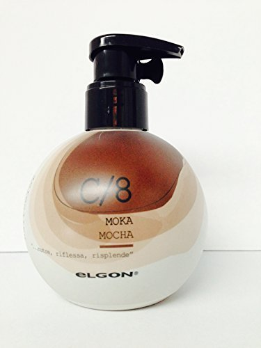 Elgon I/care Haircolor Rinse Coloring Conditioning Cream 6.76 Oz (C/8 Mocha) by Elgon