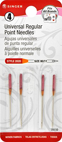 SINGER 30030 4 Regular Point Machine Needles