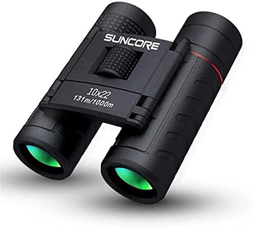 La precisión de alta densidad le brinda precisión Binoculares al aire libre 10x22 Range Finder largo rango de largo 1000m Mini telescopio para la caza Deportes Camping al aire libre Viajes al aire lib