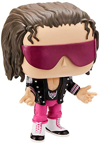Funko 41944 POP Vinyl: WWE-Bret Hart (w/Jacket) Sammelbares Spielzeug, Mehrfarben