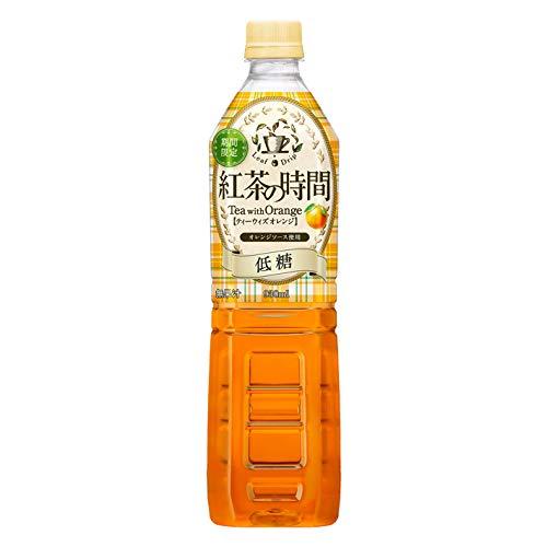 UCC 紅茶の時間 ティーウィズオレンジ 低糖 930ml×12本入り (1ケース)