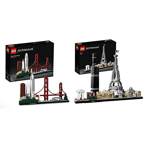 Lego Architecture San Francisco, 21043 & Architecture Parigi, 21044