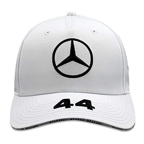 Mercedes AMG Petronas F1 Driver Lewis Hamilton Gorra Blanco ...