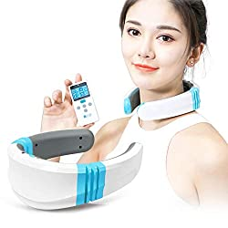 MEISHENG Electric Pulse Neck Massager Cervical Vertebra Pulse Massage Physiotherapy Acupuncture Magnetic Therapy Relief Pain Tool