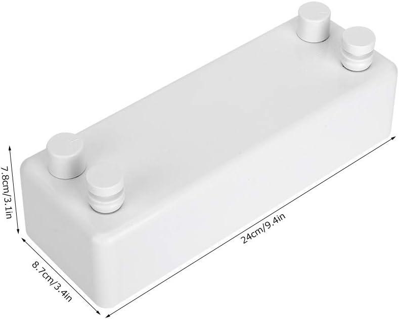 Bianco GOTOTOP Stendibiancheria Retrattile per Esterni,Stendibiancheria a Muro,Corde Doppie,4.2m Estensibile Stendibiancheria per Interni ed Esterni