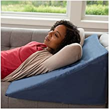 Bed Back Wedge Pillow - Incline Bed Rest for Sitting Up - Sleep Back Support, Pregnancy, Surgery Recovery, GERD, Acid Reflux