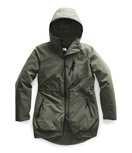 The North Face Women's Millenia Insulated Jacket, New Taupe Green, M