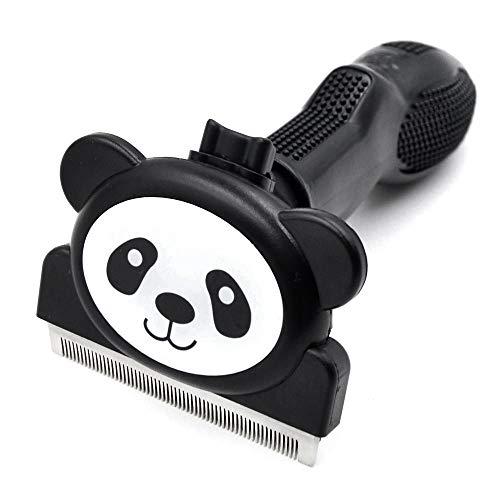 Dog Brush - Dog Brushes for Shedding Dog Grooming Brush Tool Comb Hair Remover with Cartoon Panda Design