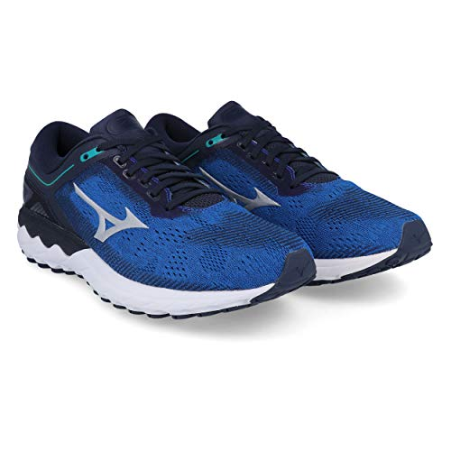 Mizuno Wave Skyrise Mens Running Shoes - Blue-8.5