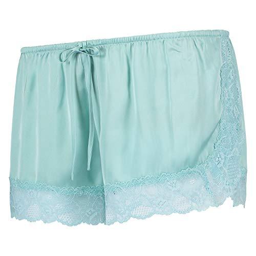 HUNKEMÖLLER dames bikini shorts satijn - - Small