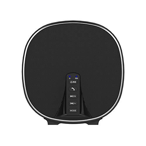 VKTY Tragbarer FM-Radio Bluetooth-Lautsprecher, Multifunktions-Mini-Bluetooth-Lautsprecher, Mini-Bluetooth-Lautsprecher mit AUX-IN, TF-Kartenschlitz, verbesserte Bass-Bluetooth-Lautsprecher, FM-Radio