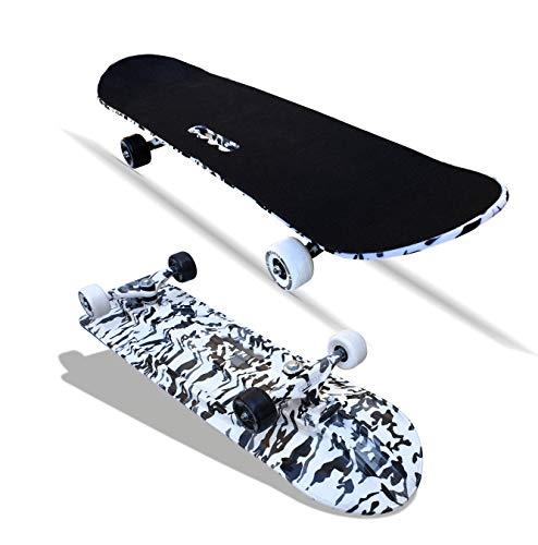 Jaspo Fiber Composite Destructor Camouflage Fiber Skateboard Suitable for Age Group Above 8 Years, Multicolour, 31x8 Inches,...