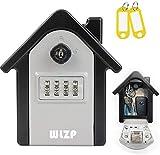 Cassetta di Sicurezza per Chiavi, Reset-table code, Include chiavi per prevenire la dimenticanza della password, stoccaggio e gestione chiavi del cantiere, regalo- 2 portachiavi