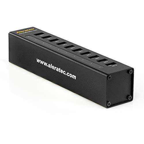 professional Aleratec 1:10 USB3.0 Flash Drive Duplicator MiniV2 for Windows and Mac, Black