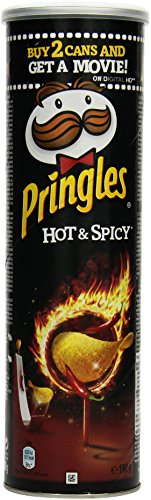 Pringles Hot and Spicy, 4er Pack (4 x 190 g)
