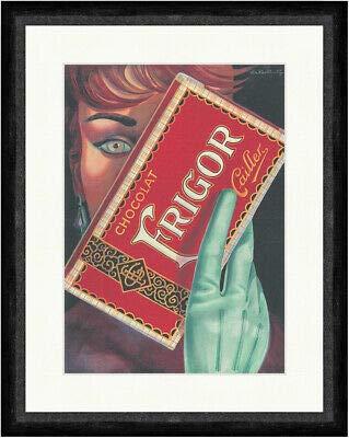 Kunstdruck Chocolat FRIGOR Cailler Schokolade Werbung Tafel Faks_Plakatwelt 419