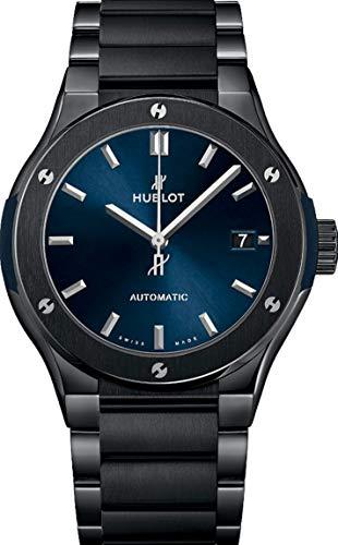 Hublot Black Ceramic Classic Fusion - Reloj para hombre, 45 mm, 510.cm.7170.cm