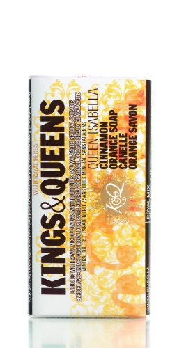Kings & Queens Queen Isabella Cinnamon Orange Soap