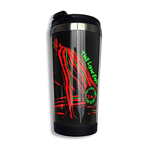 Low End Theory Lightweight Hoodie Coffee Travel Mug Cup Stainless Steel Vacuum Insulated Tumbler 13.5 Oz