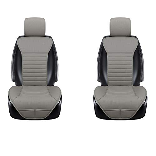 DINKANUR Breathable PU Leather Auto Universal Car Seat Covers