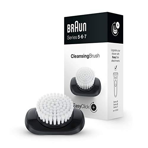 Braun EasyClick Accesorio de Cepillo de Limpieza para Afeitadora Eléctrica Hombre Series 5, 6 y 7