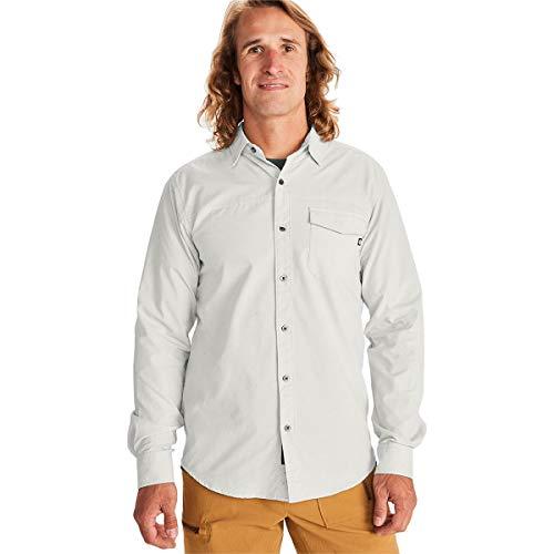 Marmot Tumalo Long Sleeve Hemd Chemise pour Homme, Kaki Clair, XL