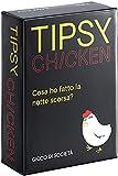Tipsy Chicken, Trinkparty-Kartenspiel, unheimlich lustige Dares für Spieleabend...