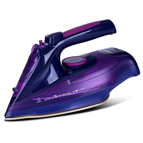Find Discount VIVICF Steam Iron and Vertical Steamer, 2400W Dry and Steam 2 in 1 Electric Irons, Ant...