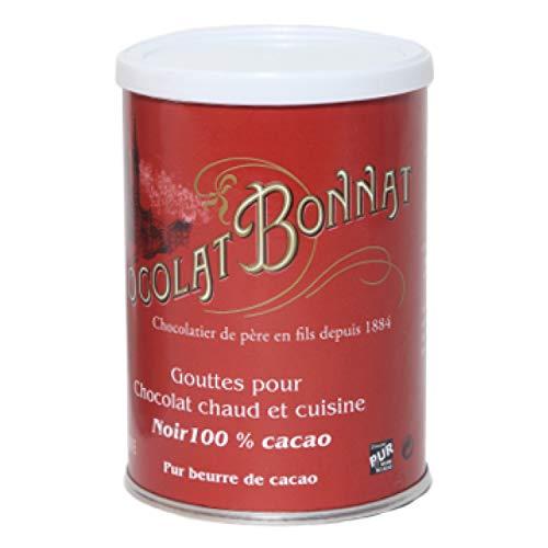 Trinkschokolade Bonnat 100% 250g - Schokoladentafel - Bonnat