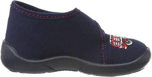 Fischer Mini, Zapatillas Altas para Niños, Azul (Marine 521), 24 EU