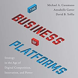 The Business of Platforms audiobook cover art