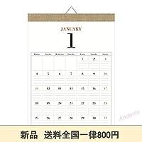 期間 ムク 2021年 カレンダー 壁掛け B4 DAYS ナチュラル