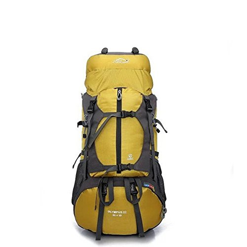 Koola's Outdoor Femmes Hommes Camping Randonnée Escalade Voyage d'équipe Sac à dos Sac de sport Imperméable Capacité Max-65L