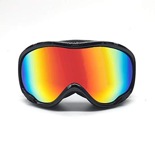 Blisfille Gafas de Enduro Gafas Proteccion Frontenis,Naranja Blanco