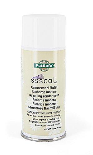 PetSafe SSSCAT Fernhaltespray Nachfülldose, umweltfreundlich und unparfümiert