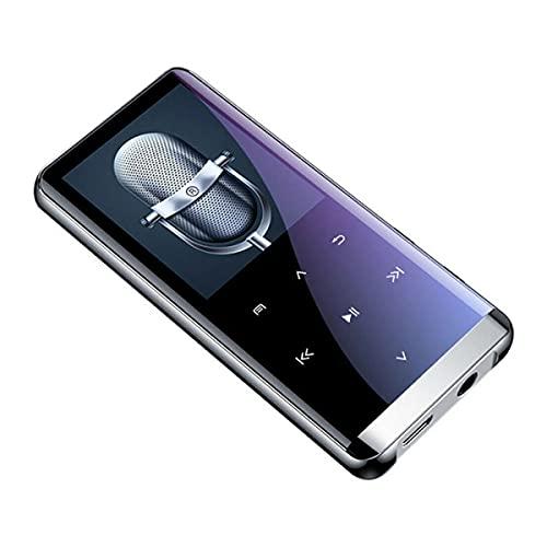 Reproductor De MP3 Bluetooth, Altavoces De Música Deportiva HiFi MP4, Grabadora De Radio FM De Libro Electrónico, Grabadora De Voz con Control De Reducción De Ruido HD Inteligente