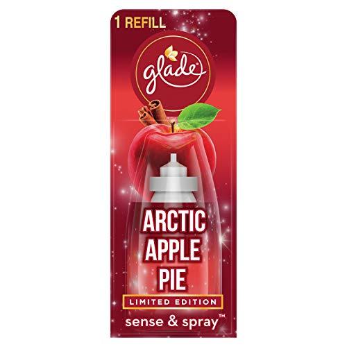Glade Sense & Spray Refill, deodorante automatico ricariche per casa, Arctic Apple Pie, 18ml, 321402S