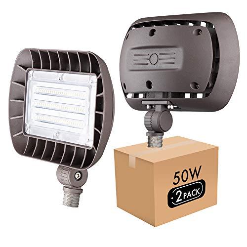 Lightdot Outdoor LED Flood Light with Knuckle...