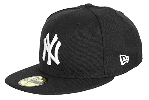 New Era York Yankees 59fifty Basecap MLB Basic Black/White -...