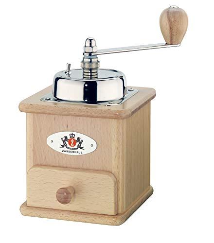 Zassenhaus 40005 - Molinillo de café Manual, Color marrón