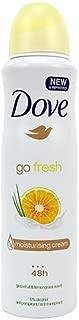 (12 PACK) DOVE Dry Spray Antiperspirant 48 hours, (Go Fresh Grapefruit & Lemongrass ) 5oz
