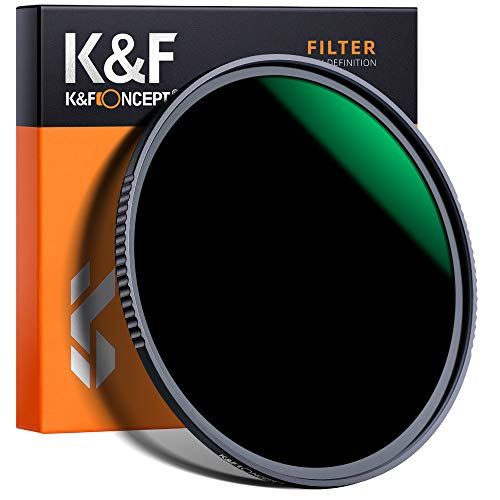 K&F Concept - Filtro para Objetivo ND 67 mm ND1000 (10 Pasos