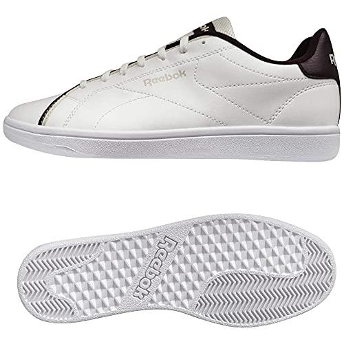 Reebok Royal Complete CLN2, Zapatillas de Tenis Unisex Adulto, FTWBLA/Granat/Stucco, 38.5 EU