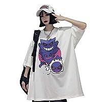メンズ レディース tシャツ 半袖 ストリート系 原宿系 ゆったり カジュアル 夏服 トップス 大きいサイズ 男女兼用