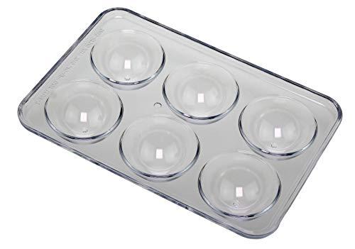 6er Eierhalter 18330 (16x11x2,5cm) Universell für den Kühlschrank