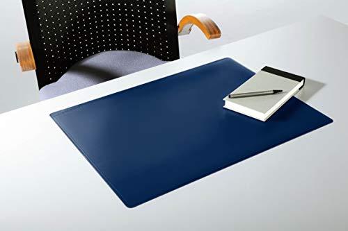 Durable 710207 Schreibunterlage (mit Dekorrille, 530 x 400 mm) dunkelblau