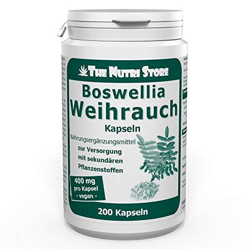 Weihrauch Boswellia 400 mg Extrakt Kapseln 200 Stk.