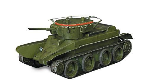Umbum Jeu de 210 véhicules blindés avec Machines Tank BT-5 dans Un Sac en Plastique Multicolore